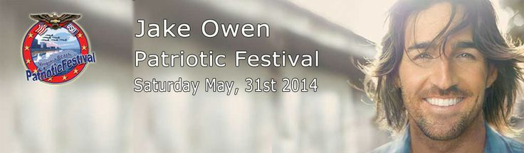 Jake Owen at the Patriotic Festival in Virginia Beach June 1, 2014!