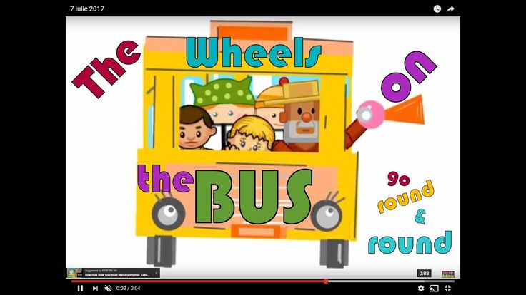 The Wheels on The BUS go Round and Round - BEBE BILOO Channel