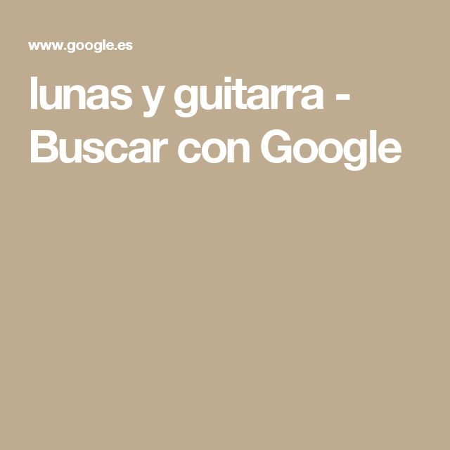 lunas y guitarra - Buscar con Google