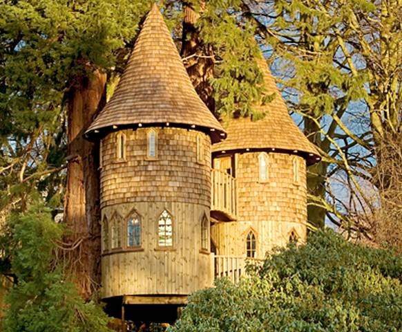 pictures of tree houses | Today's Tree Houses, more than a bucket of nails | Trying to Balance ...