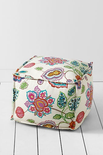 Four Square Ottoman from Lands End