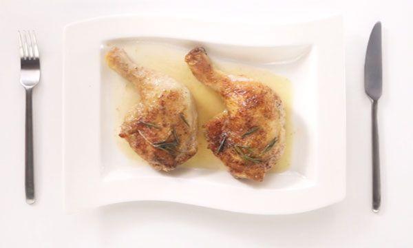 Курица с розмарином тушёная в духовке: быстрый и простой рецепт | Блог elisheva.ru