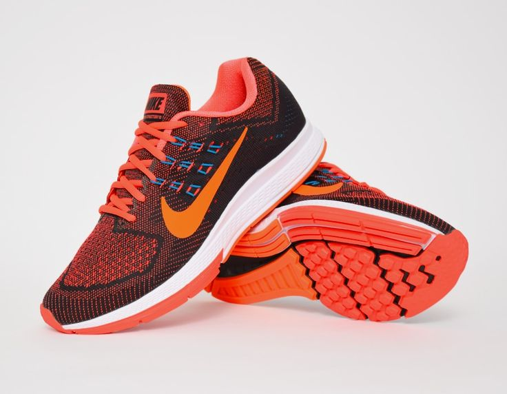 mens nike zoom structure 18 orange black
