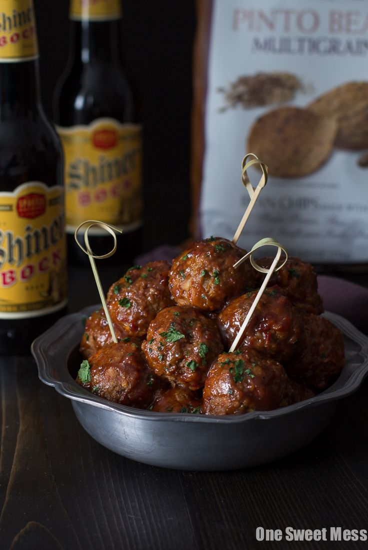 Spicy Chorizo Meatballs with Chipotle Barbecue Glaze ...