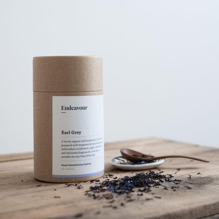 Endeavour Tea — Earl Grey loose leaf tea