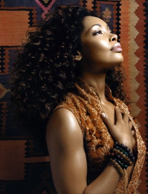 "Gina Torres. Love her character ""Jessica Pearson"" on Suits."