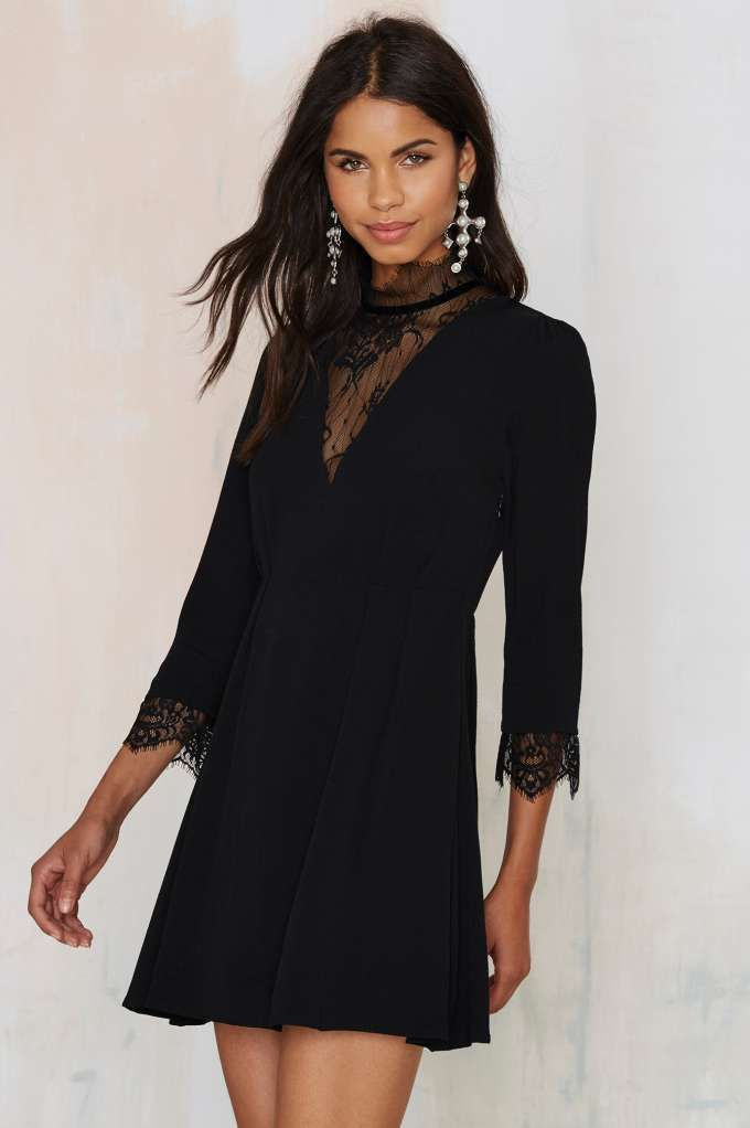 Hexin' and Finessin' Flare Dress - Dresses