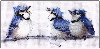 Blues, The - Cross Stitch Pattern by Heritage Crafts