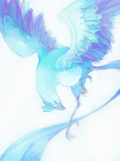 This is a very graceful Pokemon. Articuno