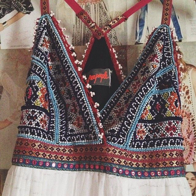Halter Top - great idea for all those crochet belly tops I probably will never want to wear again - I could add a lining and a flowy bottom part.