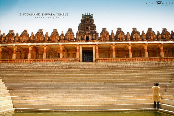 Bhoganandishwara Temple. Located near the airport on Nandi hills, this temple is over 1200 years old and is a very spiritual place