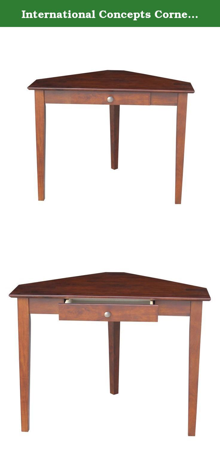 Classy Computer Tables To Go With Living Room Decor: 17 Best Ideas About Corner Computer Desks On Pinterest