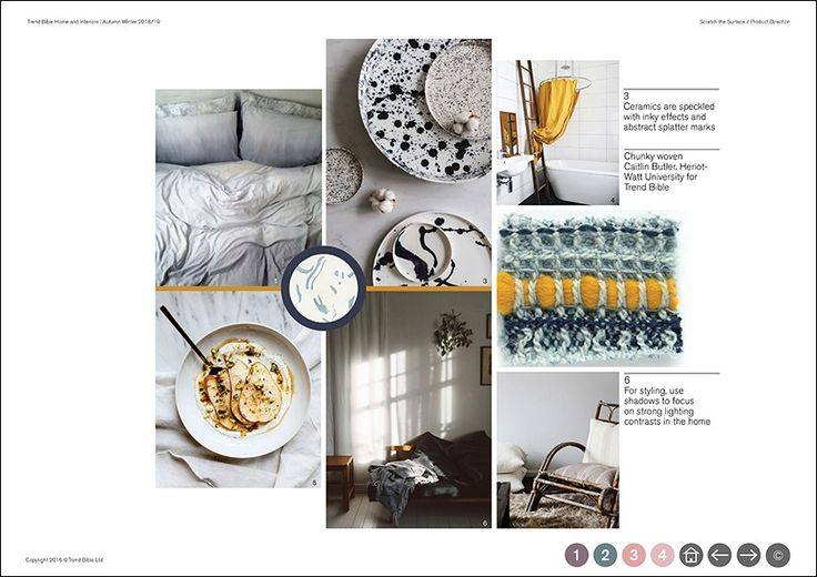 trend bible home interior trends a w 2018 2019 cores On home design trends 2019