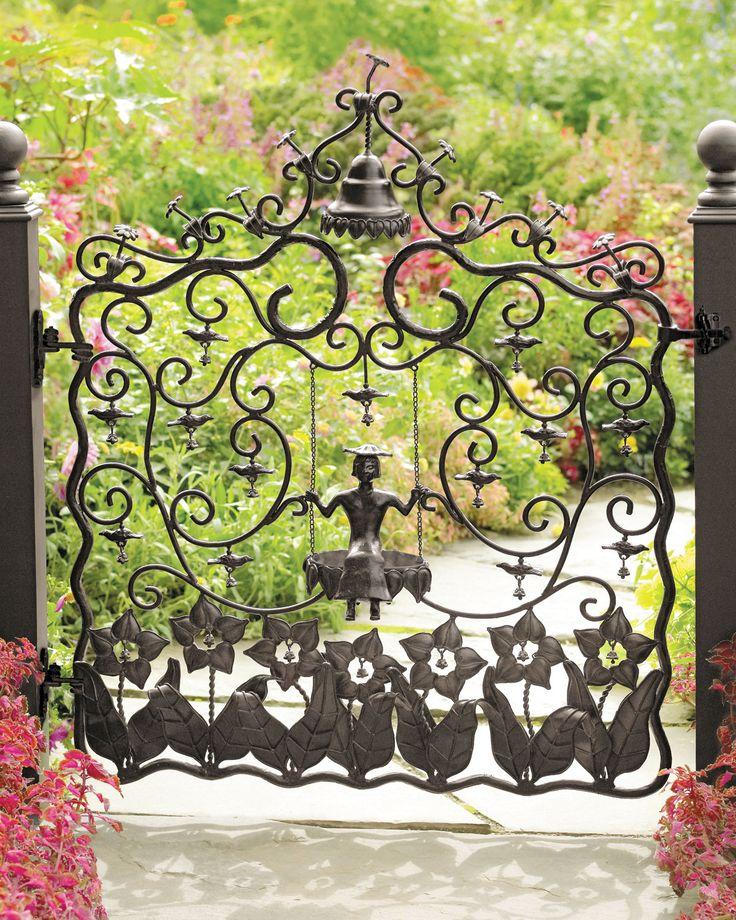 "Beautiful ""Mrs. Powers"" Garden Gate ..rh"