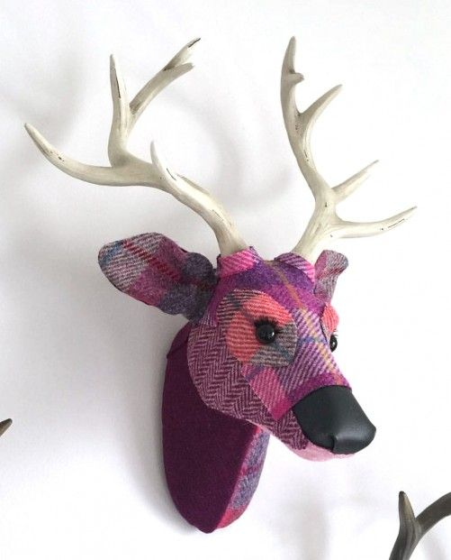 April Barrie, Milton, Textile Taxidermy | Scottish Contemporary Art
