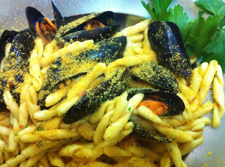 Trofie cozze e bottarga #ricettedisardegna #sardegna #sardinia #food #recipe #cucinasarda