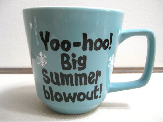 Yoo-hoo! Big summer blowout! This coffee mug is inspired by one of the funniest characters in the Disney movie Frozen, Oaken from Wandering