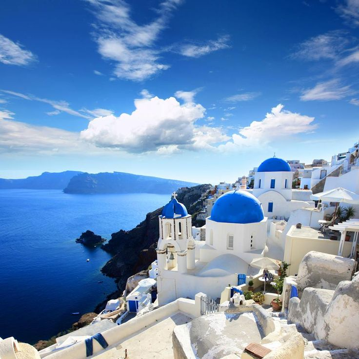 The beautiful Santorini, Greece - can't wait to revisit at some point in the future.