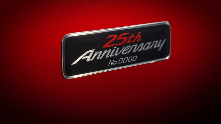 2014 Mazda MX 5 25th Anniversary logo 2014 Mazda MX 5 25th Anniversary Super Car Edition