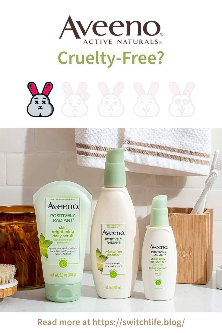 Is Aveeno Cruelty Free What Are The Alternatives In 2020 Free Skin Care Products Cruelty Free Cosmetics Aveeno