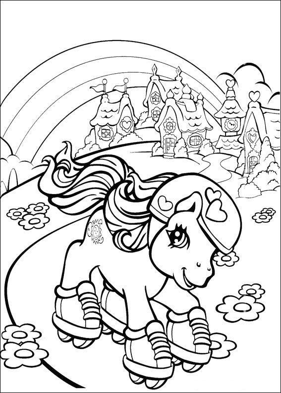 70 Disegni Di My Little Pony Da Colorare Nel 2020 My Little Pony Libri Da Colorare Disegni Da Colorare