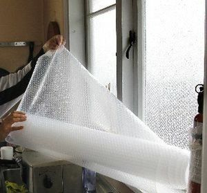 Bubble Wrap Window Insulation ~ Step by step instructions for this clever idea to help insulate your home