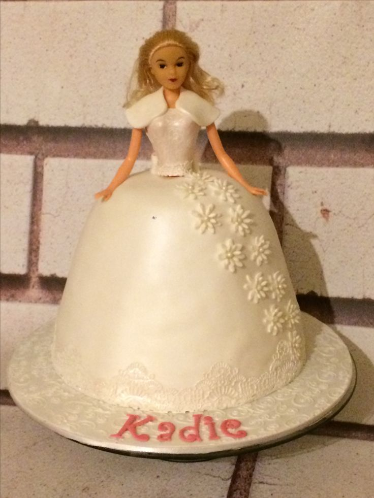 Doll First Communion Cake