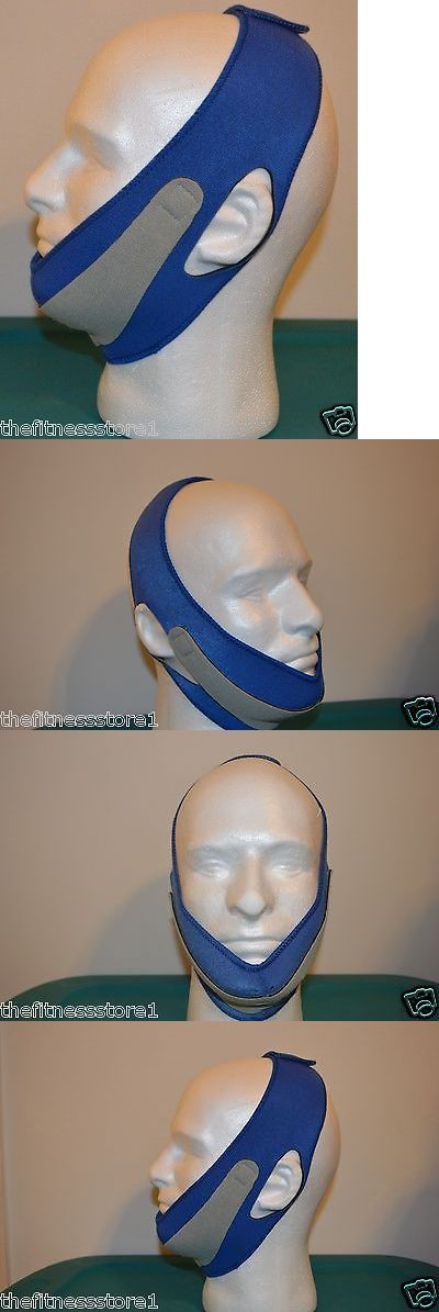 Chin Straps: 2 X Best Snoring Solution - Stop Snoring Jaw Straps Anti Snore Chin Belt Bblue -> BUY IT NOW ONLY: $38.99 on eBay!