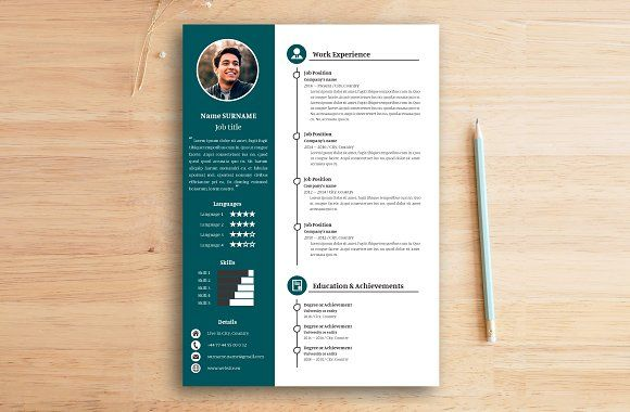 Resume Letter Professional Green By To The Top Of The Pile On