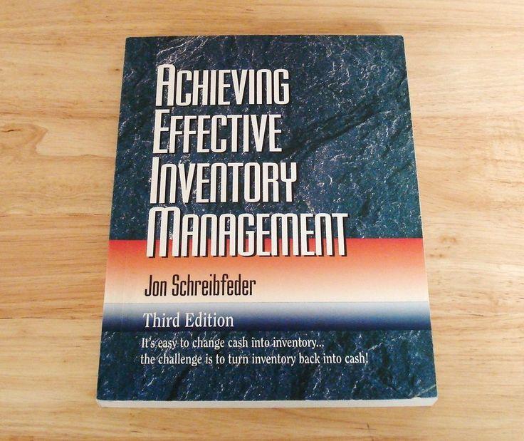 Achieving Effective Inventory Management Third Edition John Schreibfeder