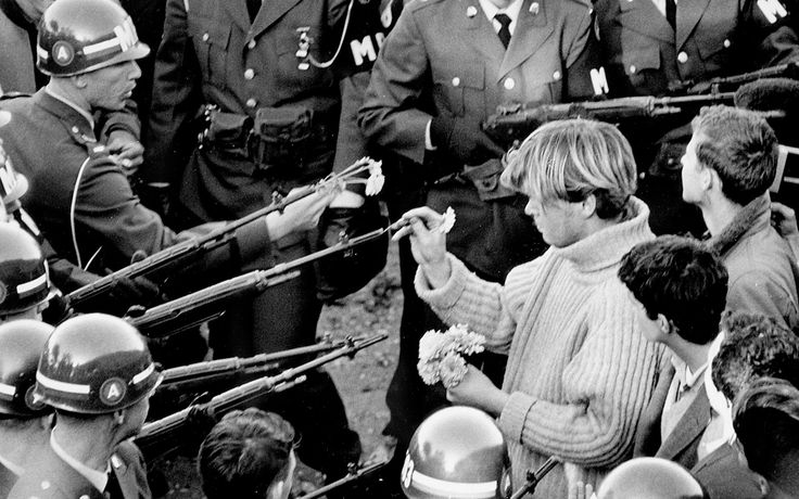 the counter culture movement Hippies were absolutely counter-culture, just listen to the late 60's and early 70's history the nation was going insane at one point in time there were more than 65 universities shut down and the national guard was deployed to more than 25 cities simultaneously.