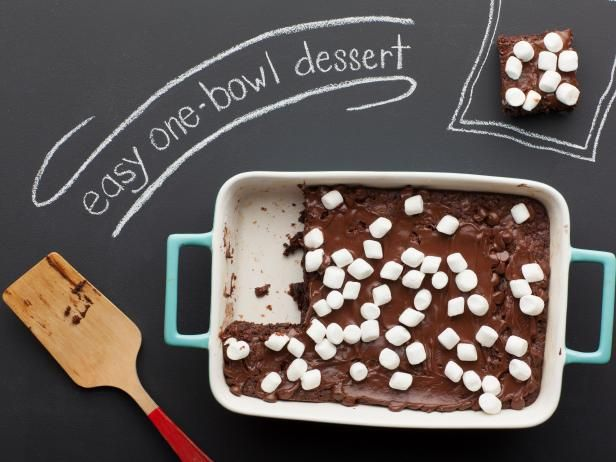 One Bowl Cocoa Brownies: Desserts, Food Network, Brownie Recipes, Brownies Recipes, Network Kitchens, One Bowls Brownies, Chocolates Brownies, Cocoa Brownies, Bowls Cocoa