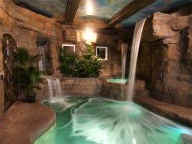 Wonderful home spa room