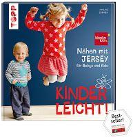"""Blog-Review von """"Binchen´s Bücherblog"""" zum TOPP-Titel """"Nähen mit Jersey - kinderleicht"""": https://www.topp-kreativ.de/naehen-mit-jersey-kinderleicht-6402.html #frechverlag #topp #diy #nähen #jersey #paulinedohmen"""