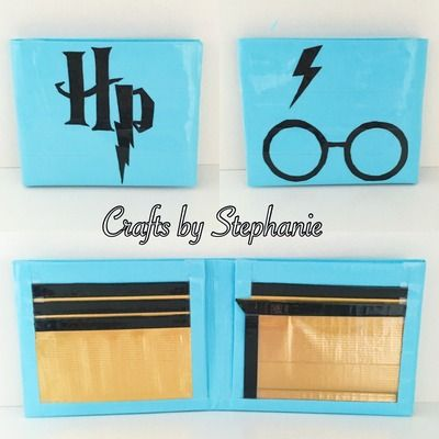 Harry Potter Duct Tape Wallet from Crafts by Stephanie