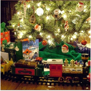82 Best Christmas Tree Under The Train Images On Pinterest  - Christmas Trains For Under The Tree