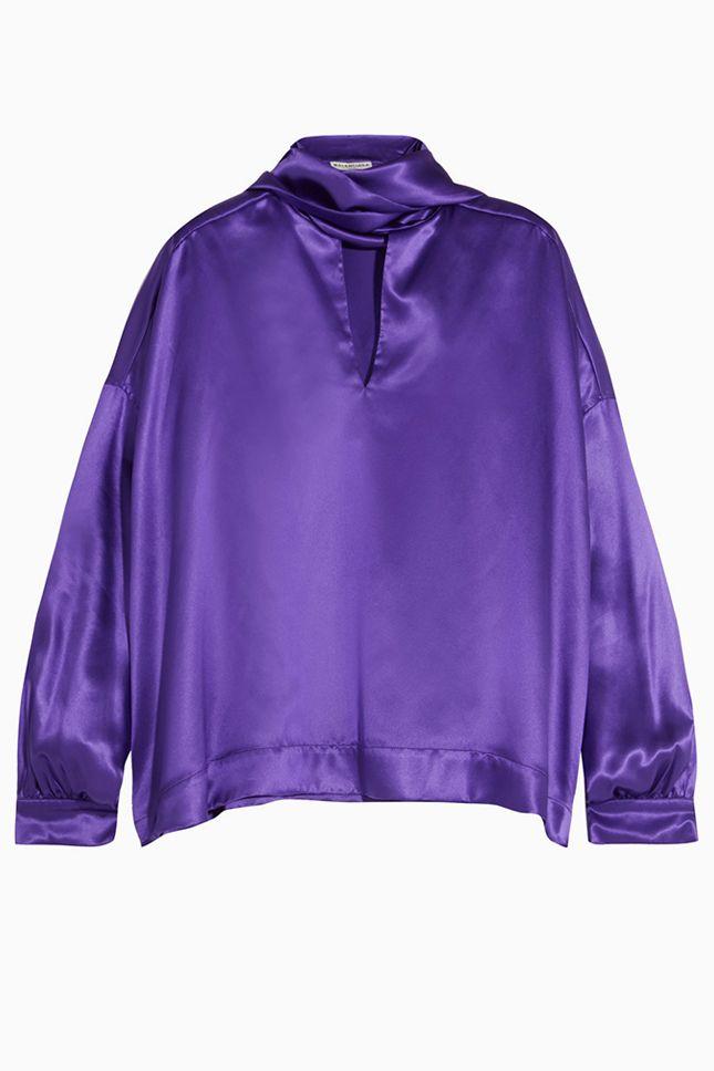 Фиолетовая ностальгия по 80-м | Мода | Тенденции | VOGUE