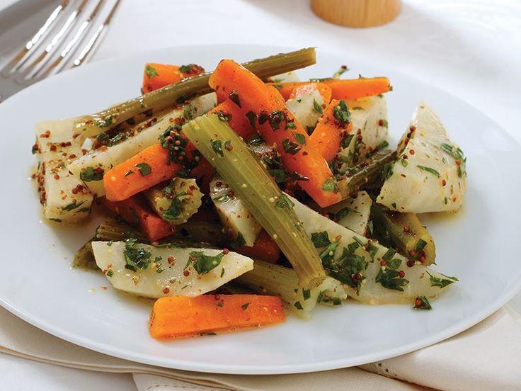 Hardallı Kereviz Salatası Tarifi - Lezzet