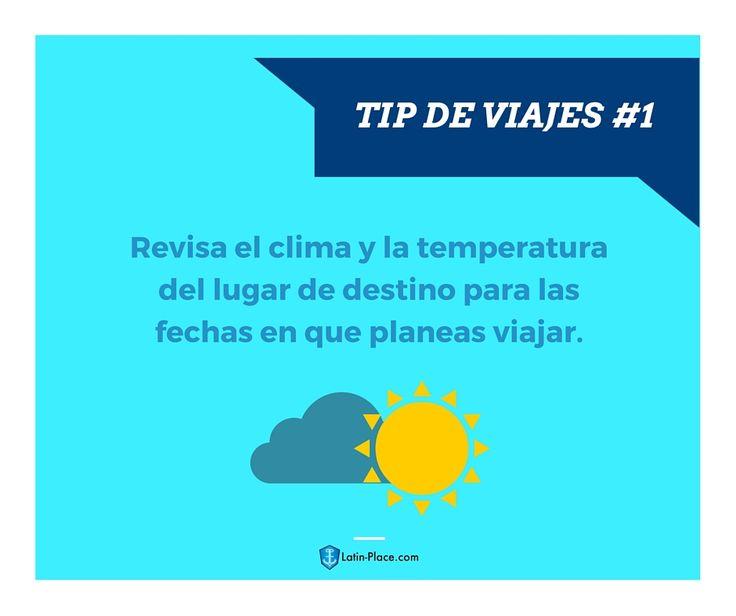Tip de viajes - Latin-place.com #traveltips #traveling