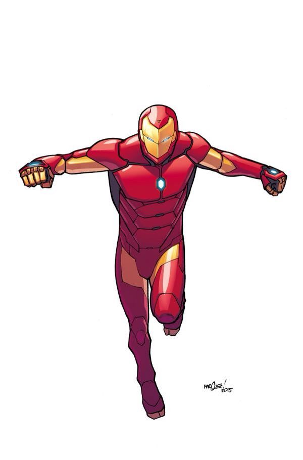 """All-New, All-Different Marvel"" Iron Man."