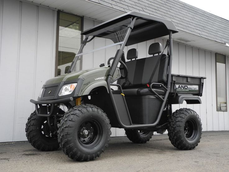 The Landmaster Utv Side By Side: This New American