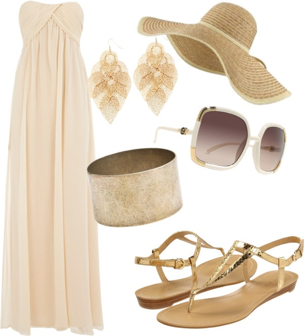 """Beach Day"" by rinergirl ❤ liked on Polyvore"