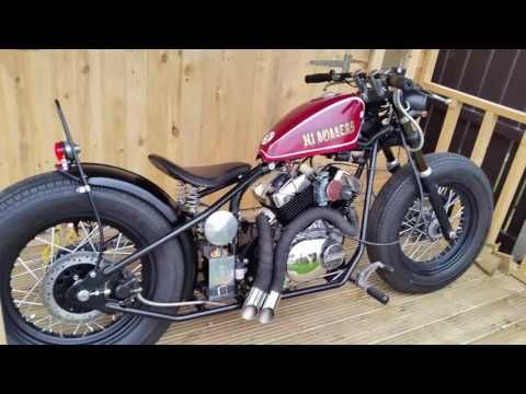 Hardknock kikker 5150 bobber 250cc upgraded by Ni bobbers