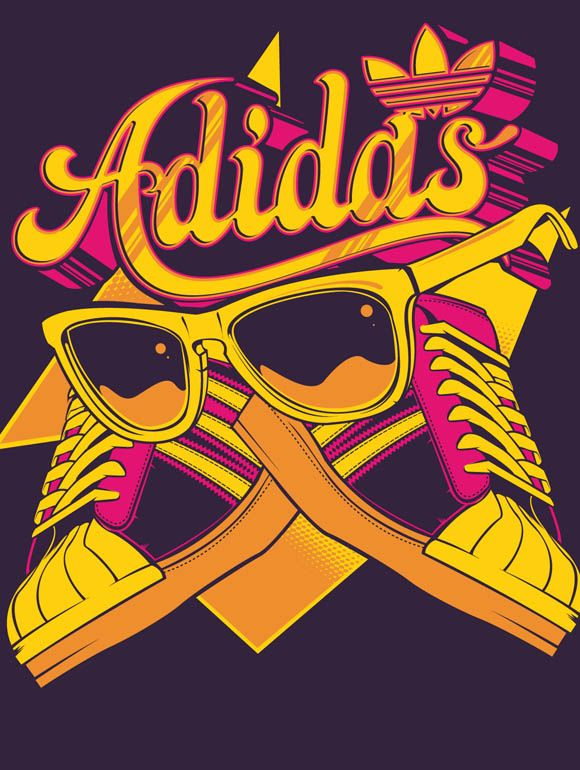 Adidas by Hydro, sickness...: Graphics Art, Boys Graphics Sports, Graphics Design, Adidas Originals, Illustrations Design Images, Adidas Art, Sneakers Nl Adidas, Design Blog, Adidas Tee1