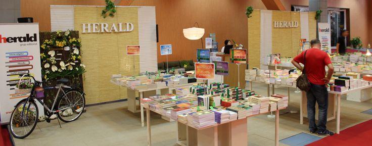 Stand Editura Herald Bookfesst 2012 Citeşte ce ţi se potriveşte! www.edituraherald.ro