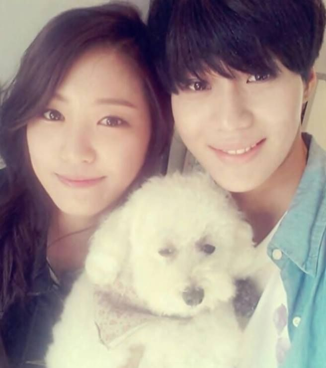 #we got married taemin and naeun