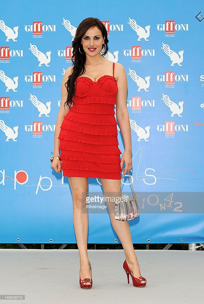Isabelle Adriani attends 2012 Giffoni Film Festival Photocall on July 22, 2012 in Giffoni Valle Piana, Italy.