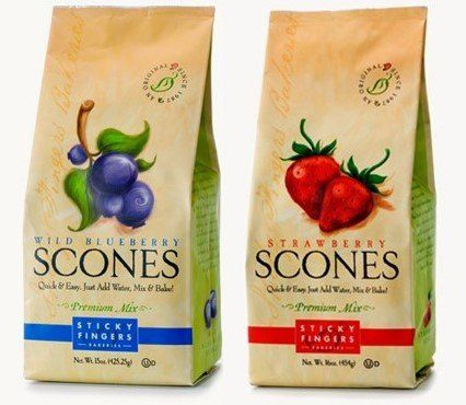 Sticky Fingers Bakeries Premium Scone Variety Mix Strawberry and Wild Blueberry Pack of 2 >>> Find out more about the great product at the image link.(This is an Amazon affiliate link and I receive a commission for the sales)