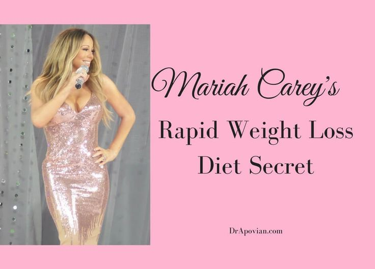 Mariah Carey says that she eats only two foods for weight loss.  What are they, and should you try it?