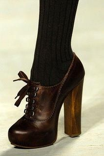 Call me nerdy, but I think these oxford heels are so cute.
